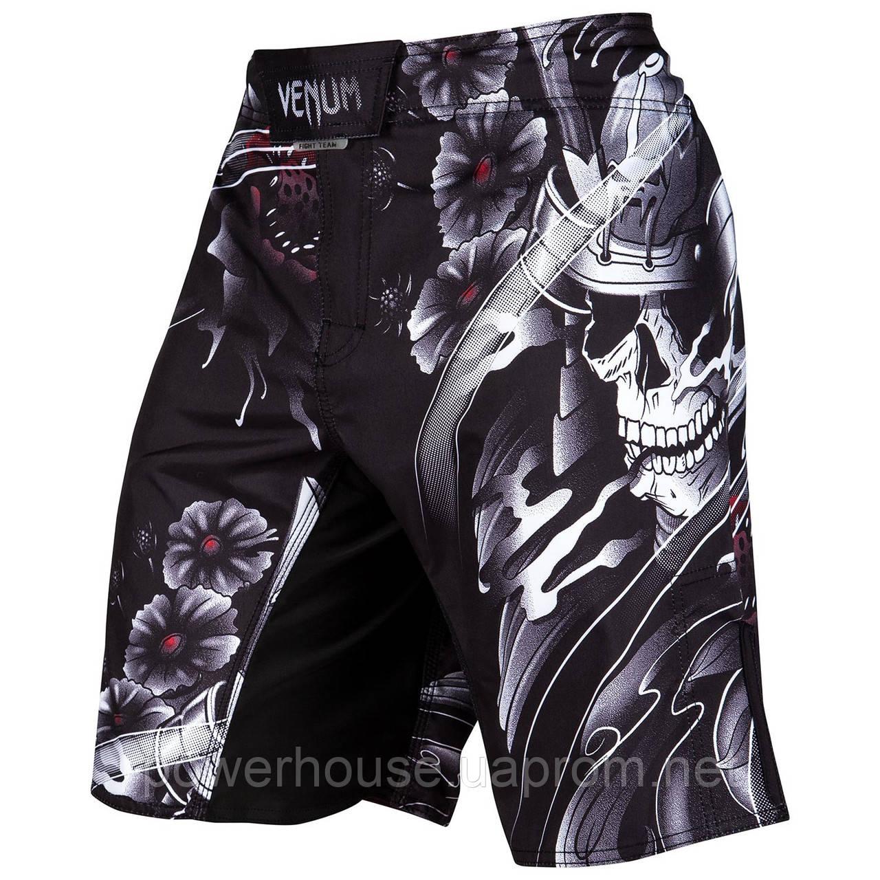 Шорты Venum Samurai Skull Fightshorts Black