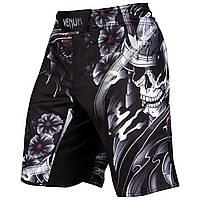 Шорты Venum Samurai Skull Fightshorts Black, фото 1
