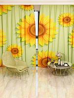 Фотоштора Патерн з соняшниками (26437_1_1)