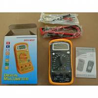 Мультиметр универсальный DT858L, Тестер электрический, Многофункциональный электрический тестер, Измеритель