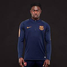Спортивная кофта Nike FC Barcelona Squad Drill Top 943159-452 (Оригинал)