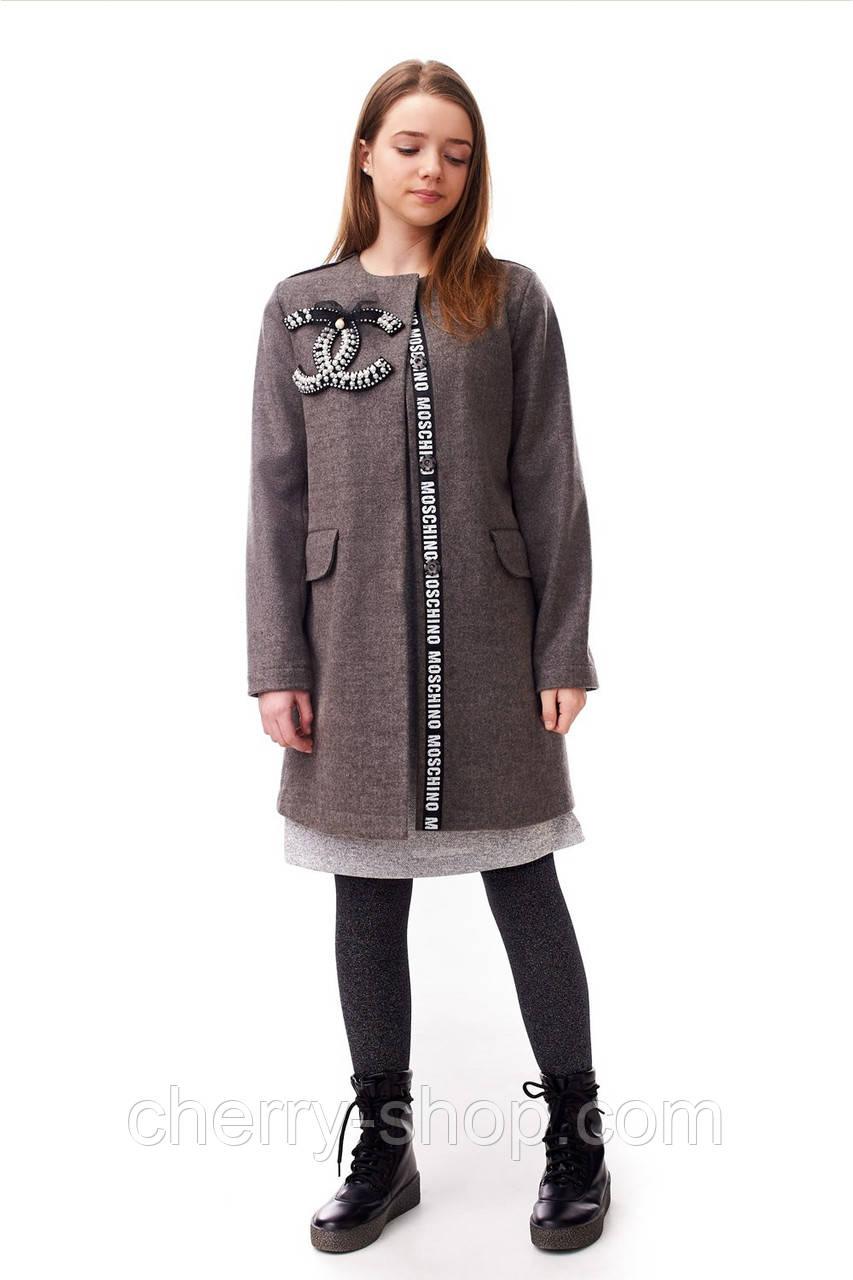 Пальто для девочки размер 146,152,158