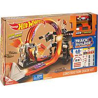 Трек Hot Wheels Взрывной набор Track Builder Хот Вилс 887961390377