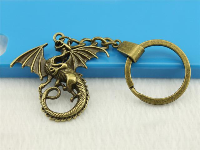 """Оригинальный брелок для ключей из металла """"Дракон""""!"""