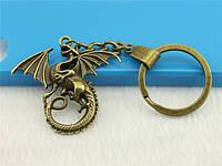 """Оригинальный брелок для ключей из металла """"Дракон""""!, фото 1"""