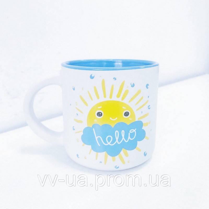 Чашка PAPAdesign Hello Солнышко