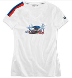 Женская футболка BMW Motorsport Motion (80142446393)