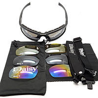 Тактические очки Daisy X7 4 стекла (Дейзи), фото 1