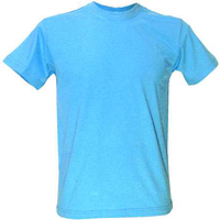 Мужская футболка под сублимацию ХS цвет голубой