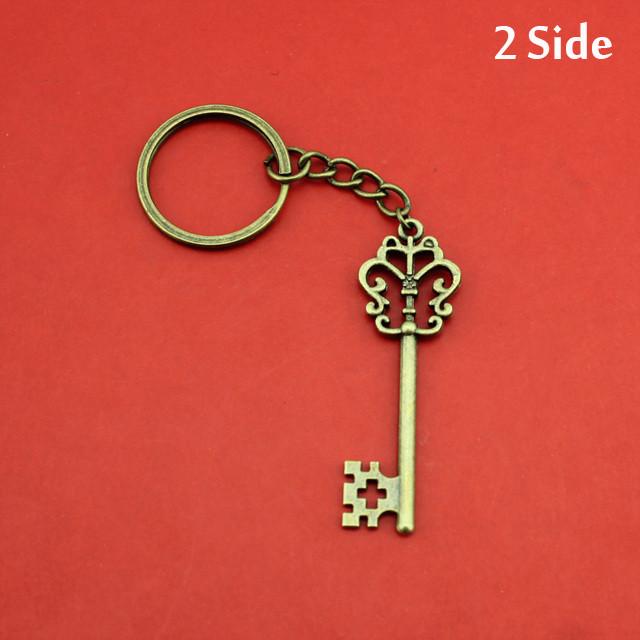 """Оригинальный брелок для ключей из металла """"Старинный ключ""""!"""