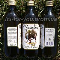 Итальянское Оливковое масло Contadina Olio Extra Vergine Di Oliva, стекло 1л