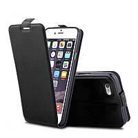 Чехол Apple Iphone 6 / 6S флип PU-Кожа черный