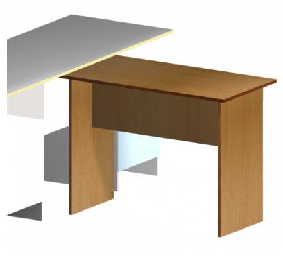 Стол приставной 100х50, фото 2