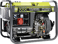Генератор дизельный трехфазный 6 кВт Könner & Söhnen BASIC KS 8000 DE-3