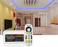 Радио контроллер для лед лент, RGB + CCT, WI-FI, (2.4GHz), фото 1
