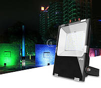 Светодиодный прожектор 50W, RGB + CCT, WI-FI, (2.4GHz)