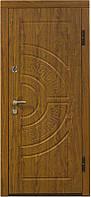 Входные двери Eurodoor 858 860R Дуб золотой
