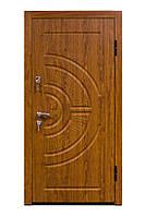 Входные двери Eurodoor 858 860L Дуб золотой