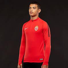 Спортивная кофта Nike AS Monaco 17/18 DriFit Squad Drill Top 855489-657 (Оригинал)