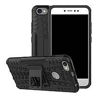 Чехол Xiaomi Redmi Note 5A / Note 5A Pro / Prime противоударный бампер черный, фото 1
