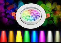 Светильник даунлайт RGB + CCT, WIFI, 9W