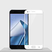 Защитное стекло Asus Zenfone 4 / ZE554KL / 1A036WW Full cover белый 0,26мм в упаковке
