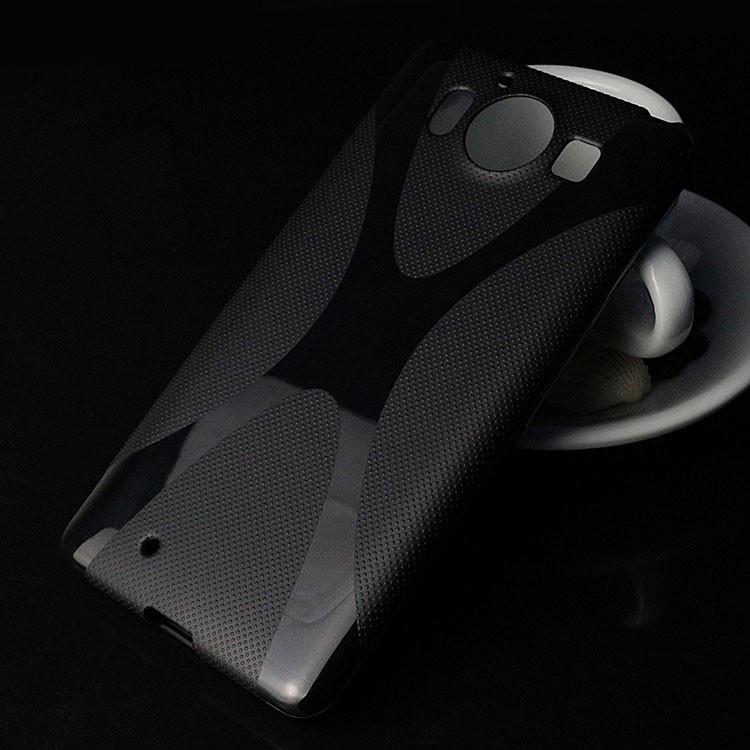 Чехол Microsoft Lumia 950XL силикон TPU X-LINE черный