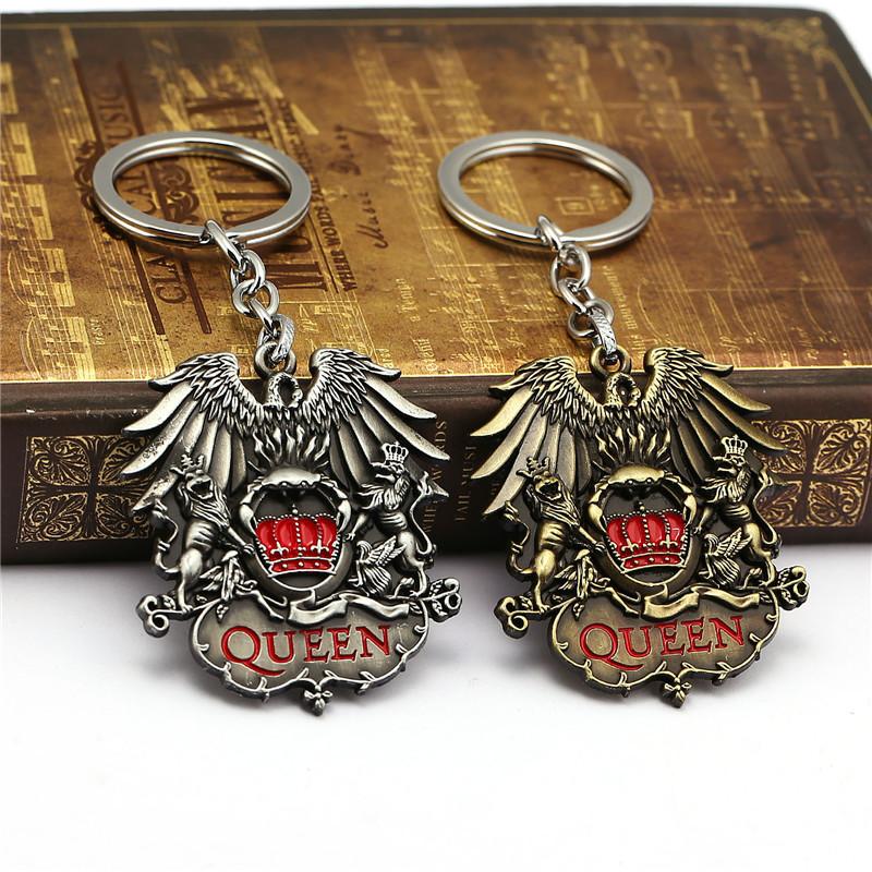 """Оригинальный брелок для ключей из металла """"Queen""""!"""