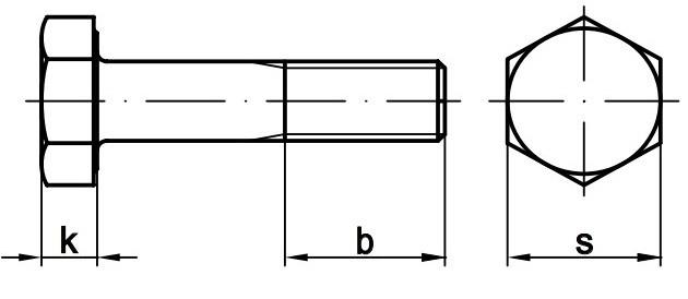 Болт М20 DIN 6914 купить