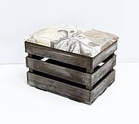 Ящик пуф 2 Холодная ковка