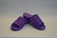 Сланцы женские Цветок фиолетовые, фото 1