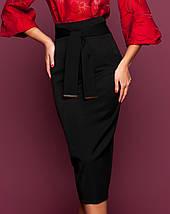 Женская узкая юбка-миди (Жаклин jd), фото 2