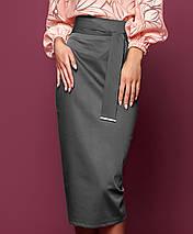 Женская узкая юбка-миди (Жаклин jd), фото 3