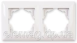Gunsan Visage Рамка двойная белая