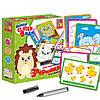 Животные Логическая игра с маркером для дошкольников (рус) Vladi Toys