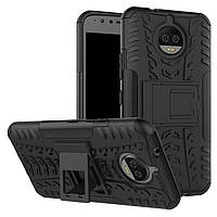 Чехол Motorola Moto G5S Plus / XT1805 / XT1802 / XT1803 / XT1804 / XT1806 противоударный бампер черный