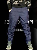 Мужские хип-хоп джинсы с матнёй