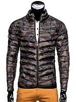 Мужская демисезонная Куртка K299 S, Разноцветный