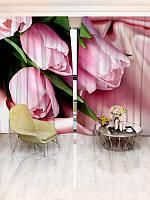 Фотошторы цветы (1124_1_1)