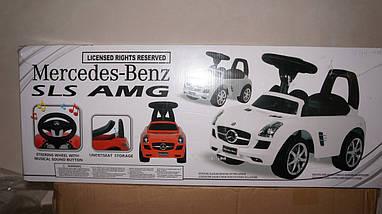 Машинка каталка толкатель толокар Mercedes Z 332-1 лицензия, фото 3