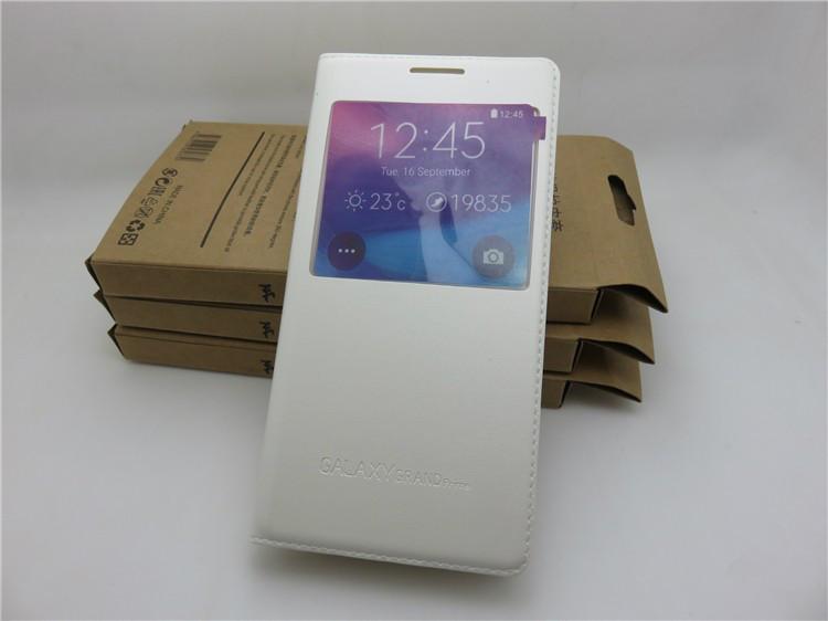 Чехол Samsung G530 / G531 / Galaxy Grand Prime книжка с окном белый