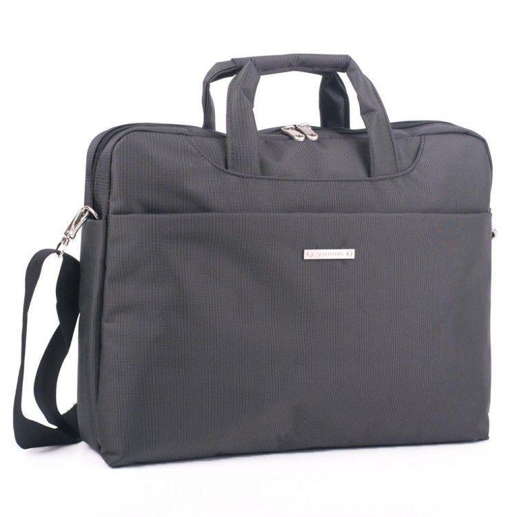 21a48fb8251c Серая сумка для ноутбука с полиэстера Yuding арт. 6002Grey - Интернет-магазин  сумок BagShop