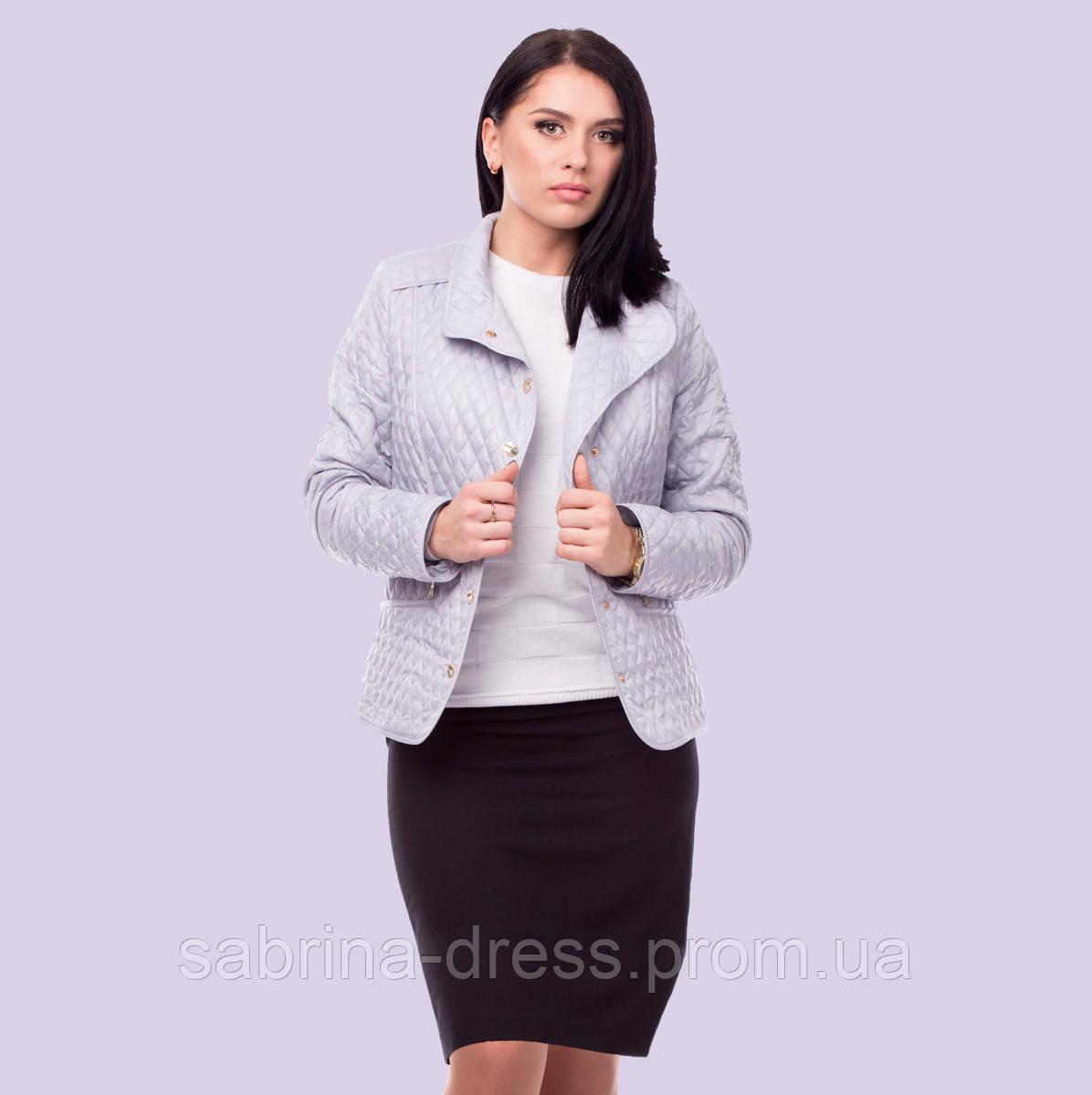 6d4c205745a Женская демисезонная куртка. Модель 59. Размеры 50-56 - sabrina-dress в