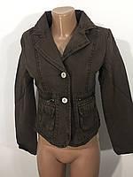 Джинсовый пиджак женский XD-007