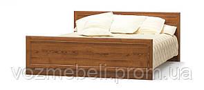 Кровать Далас каштан 1,6 +ламель МС