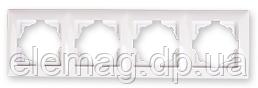 Gunsan Visage Рамка четвірна білий