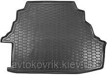 Пластиковый коврик в багажник Toyota Camry XV40 2006-2011 Европа 3,5L/Америка 2,4L (AVTO-GUMM)