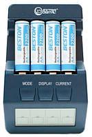 Зарядное устройство AA/AAA Extradigital BM100 blue + 4 AA 2500 mAh Beston