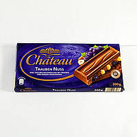 Шоколад Chateau Trauben Nuss (200 г) (Германия)