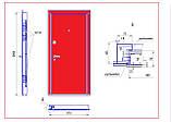 Двери входные новая комплектация со скрытыми петлями, фото 3